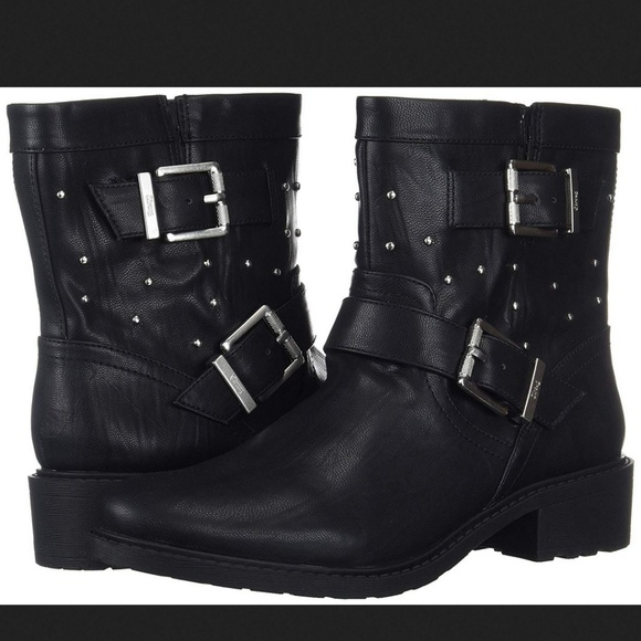3d068eec3240 CIRCUS BY SAM EDELMAN Dannelly Studded Boot Black.  M 5be51f3e7386bc877cfb1c2c